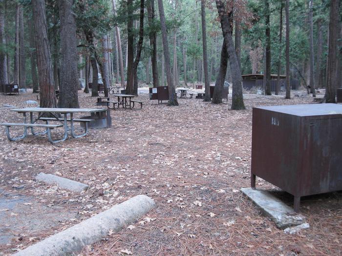 CampsiteCampsite 183