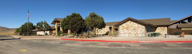 Golden Spike Visitor CenterEntering Golden Spike Visitor Center Complex