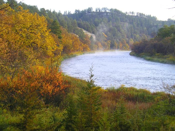 Fall colors along the Niobrara NSRAutumn is a perfect time to enjoy the beauty of the Niobrara National Scenic River, from the river or the banks.