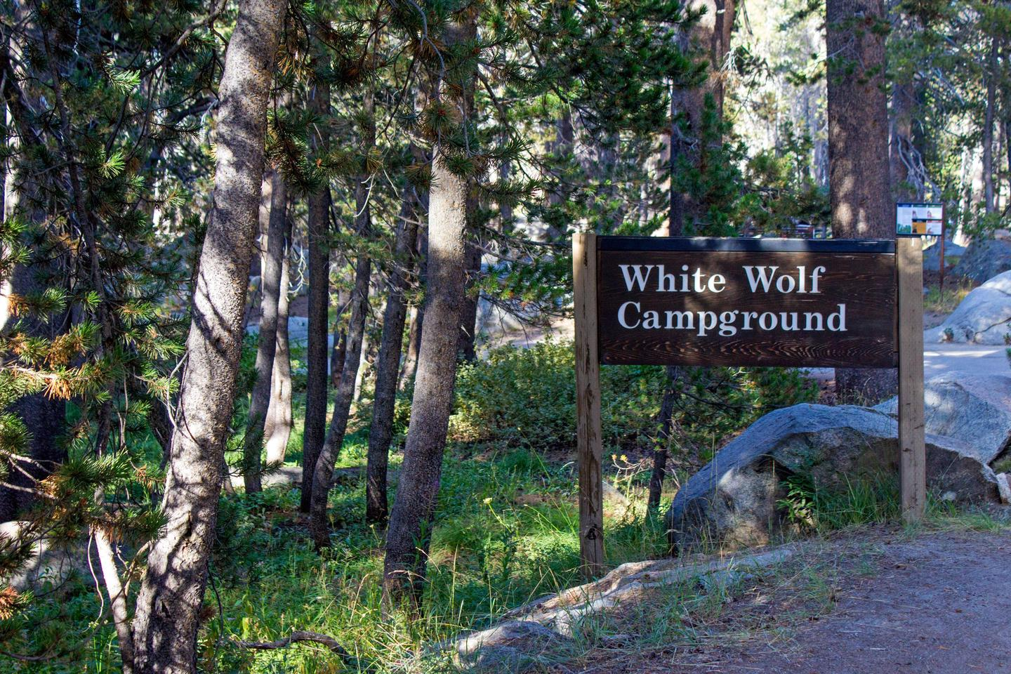 White Wolf CampgroundThe entrance to White Wolf Campground