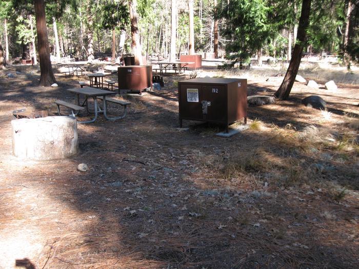 CampsiteCampsite 192