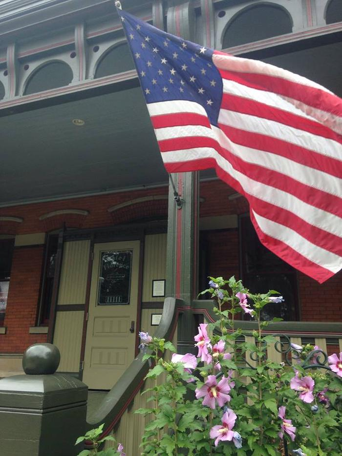 American FlagThe Pullman district also benefits from a diverse and proud residential community.