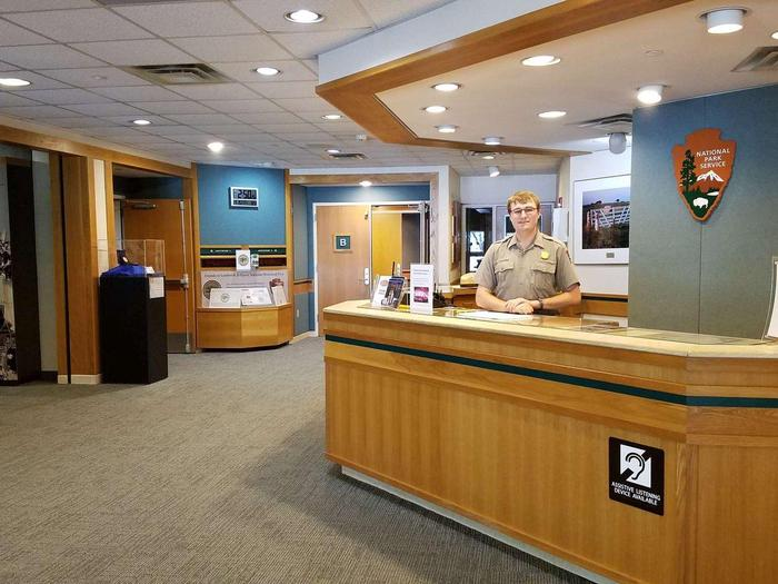 Visitor Center Information DeskPark Rangers are ready to help you plan your Lyndon B. Johnson National Historical Park visit.
