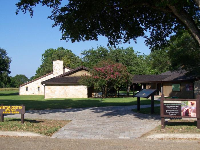 LBJ State Park and Historic Site Visitor CenterBegin your tour of the LBJ Ranch District at the state park visitor center.