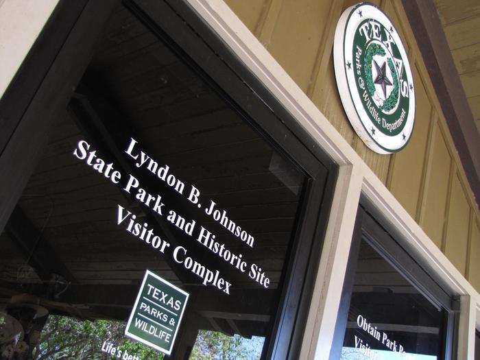State Park Visitor Center EntranceVisitor Center entrance