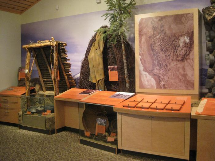 People of Great Basin exhibitThe Great Basin has a rich cultural history. Visit the Great Basin Visitor Center to learn more.