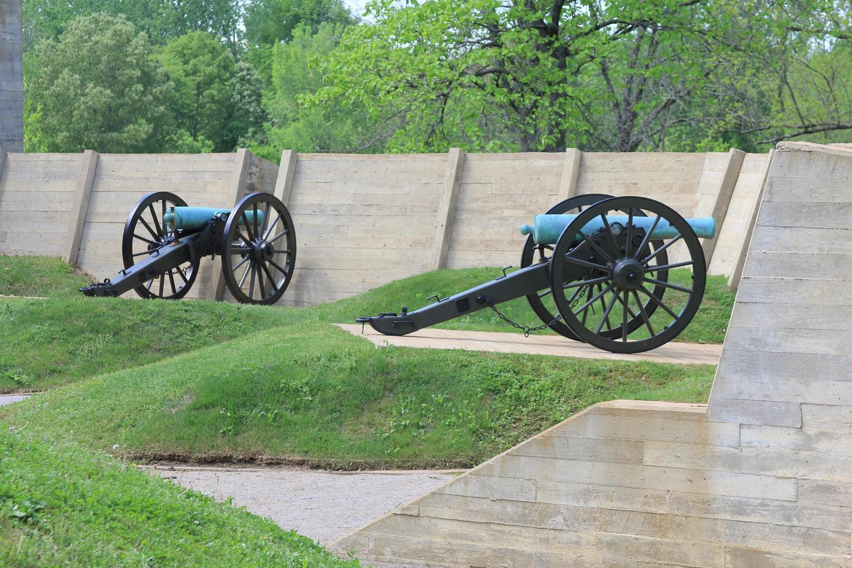 Two Gun Battery at CorinthTwo Gun Battery