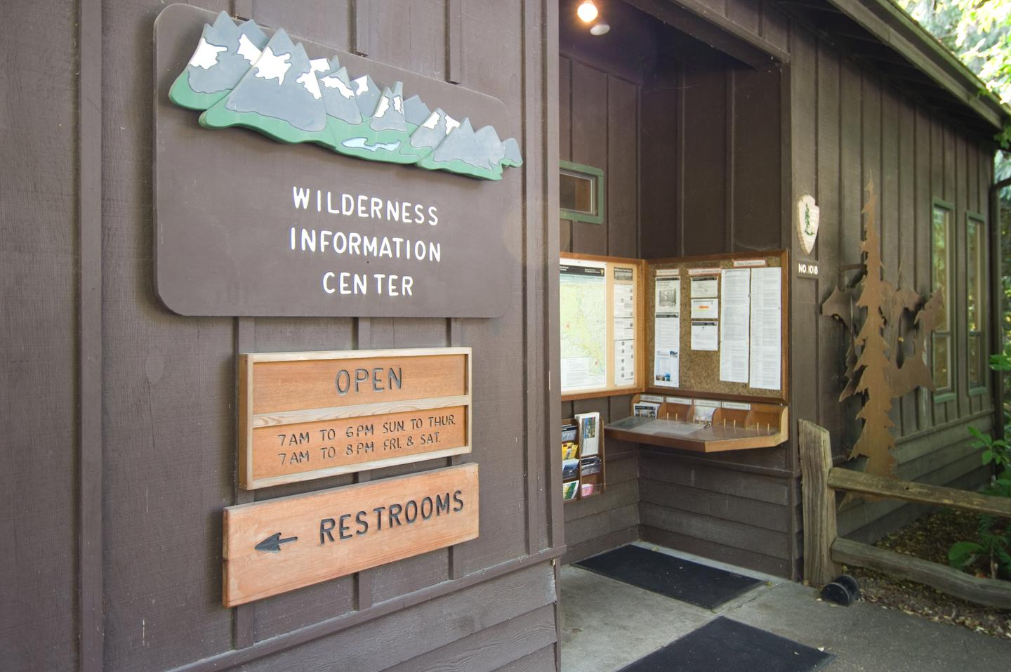 Wilderness Information CenterThe Wilderness Information Center is the main backcountry permit office for the park complex.
