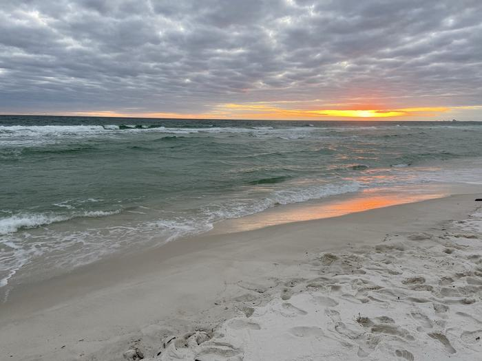 Sunset over the Gulf of Mexico