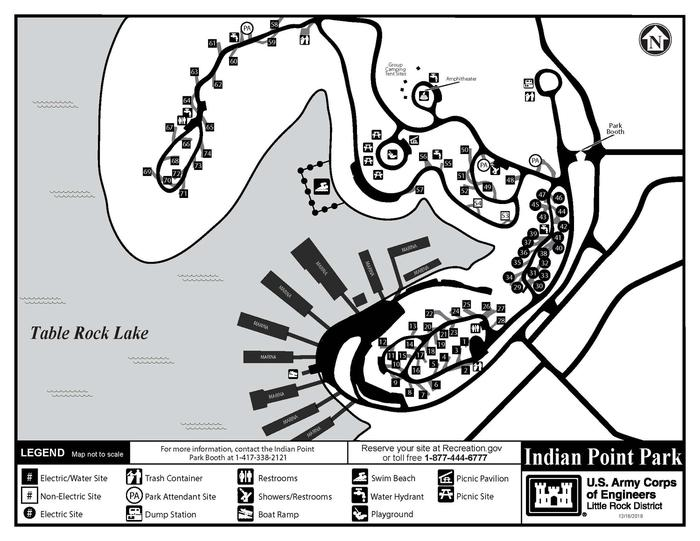 Park MapUse this map, not the one on Rec.gov mapping