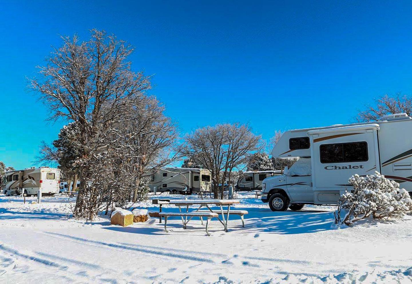 Trailer Village 004Experience Grand Canyon during winter at Trailer Village RV Park.