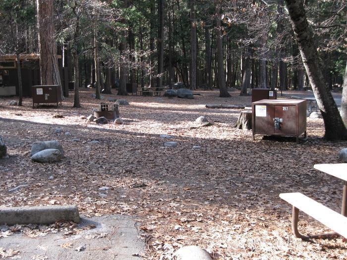 CampsiteCampsite 217