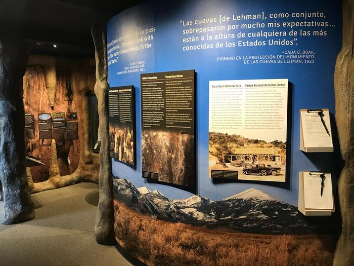 Lehman Caves Visitor Center ExhibitsLearn about the people of the Great Basin and Lehman Caves