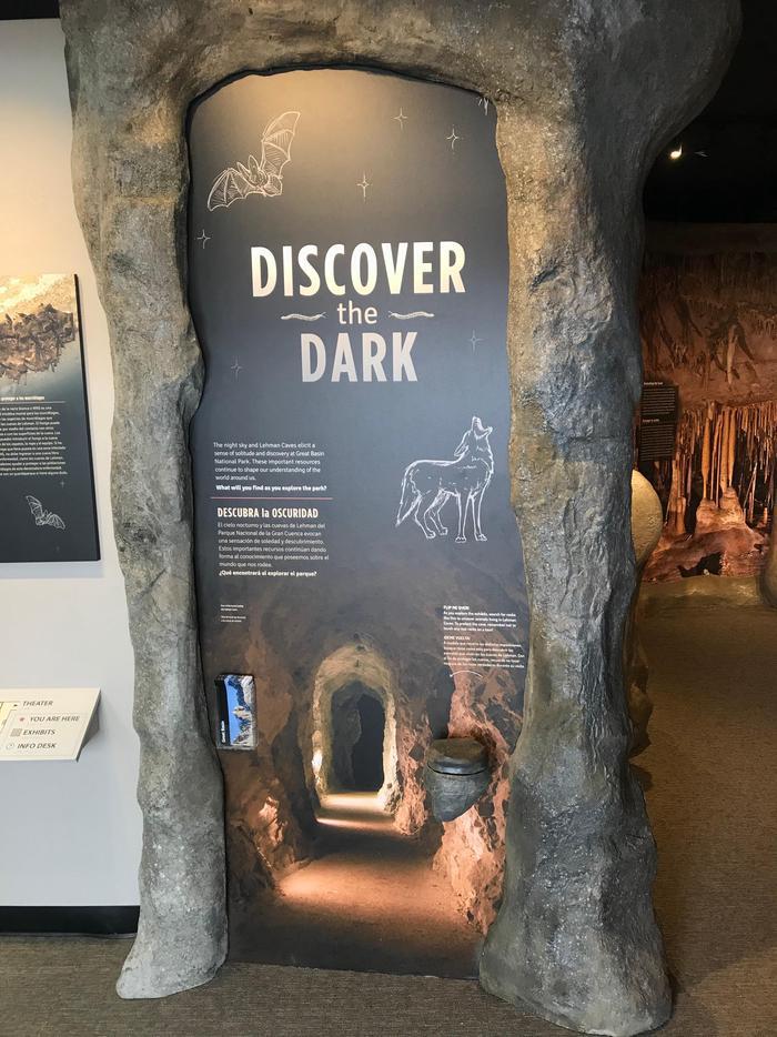 Lehman Caves Visitor Center ExhibitsExplore the Lehman Caves visitor center and the darkness of Great Basin