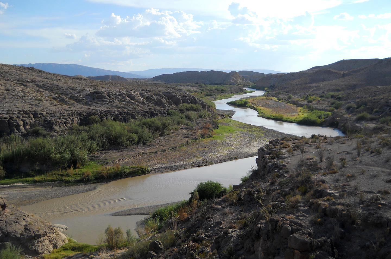 Rio Grande River Vista