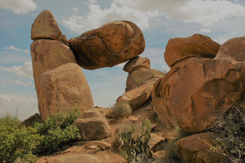 Balanced RockThe balanced rock is a popular day hiking destination.