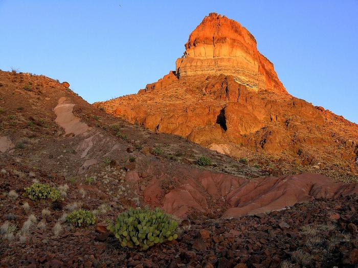 Fascinating GeologyVolcanic features abound near Castolon