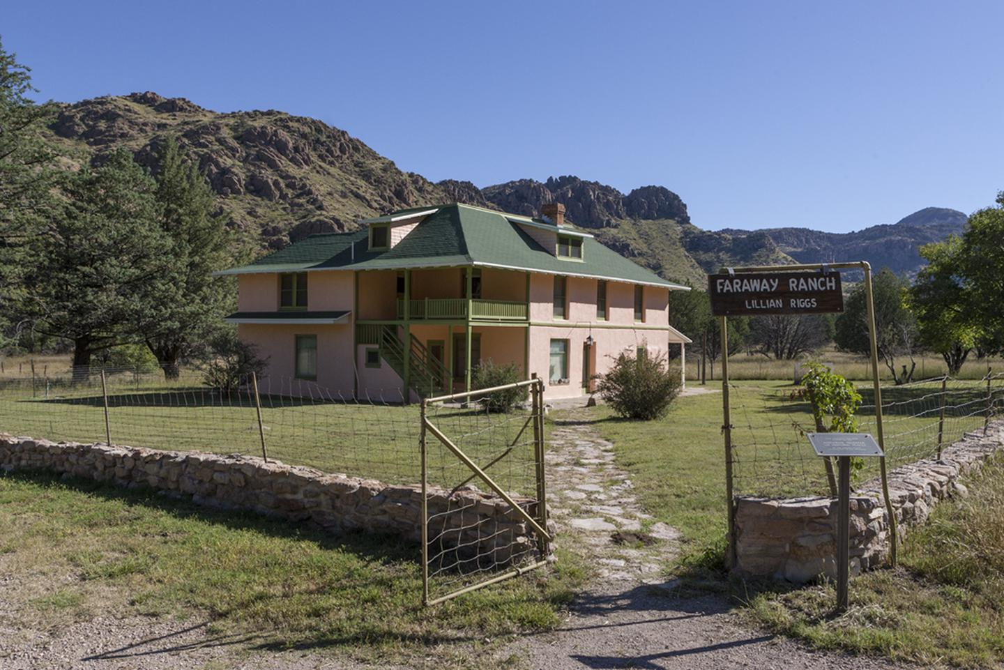 Faraway RanchFaraway Ranch preserves the heritage of early European settlers in the Chiricahua Mountains