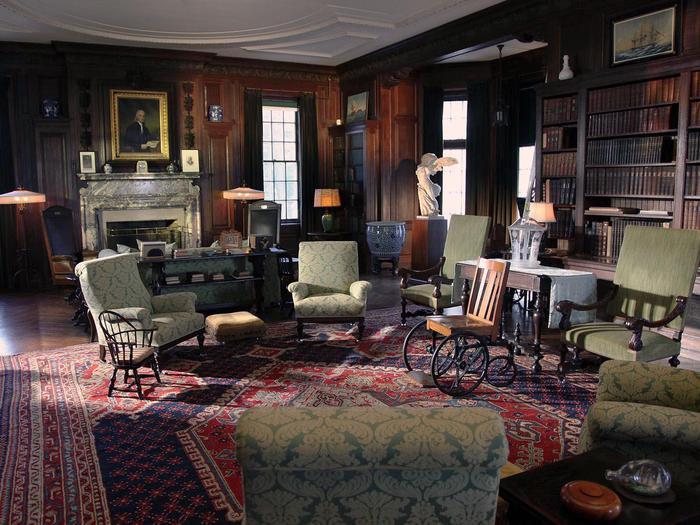The Living Room at SpringwoodThe living room at Springwood.