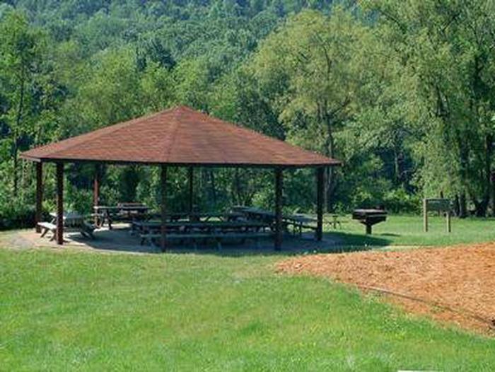 Crooked Creek Lake - Liberty Pavilion