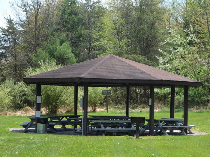 Crooked Creek Lake - Justice Pavilion