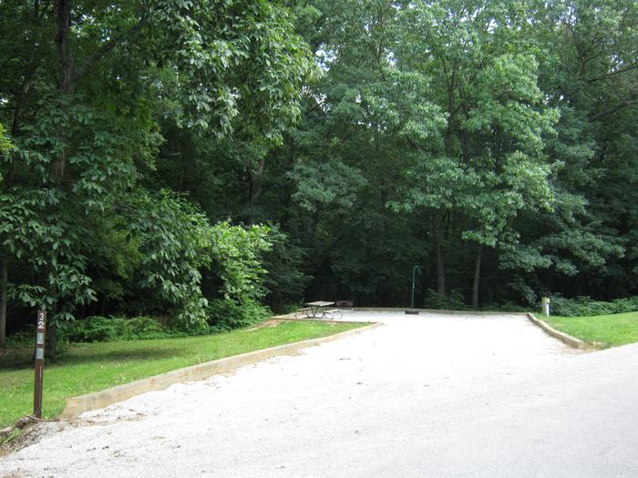 Site 32 Driveway