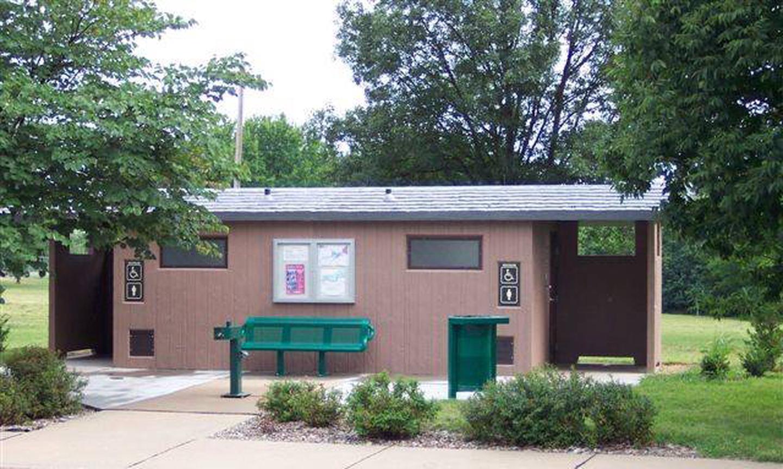 Overlook Park restroomOverlook Park waterborne restroom