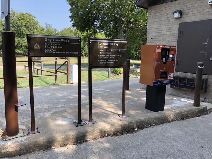 Pay Station at Front EntrancePay Station at Front Entrance at Mustang Park