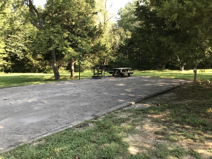 WILLOW GROVE CAMPGROUND SITE # 10