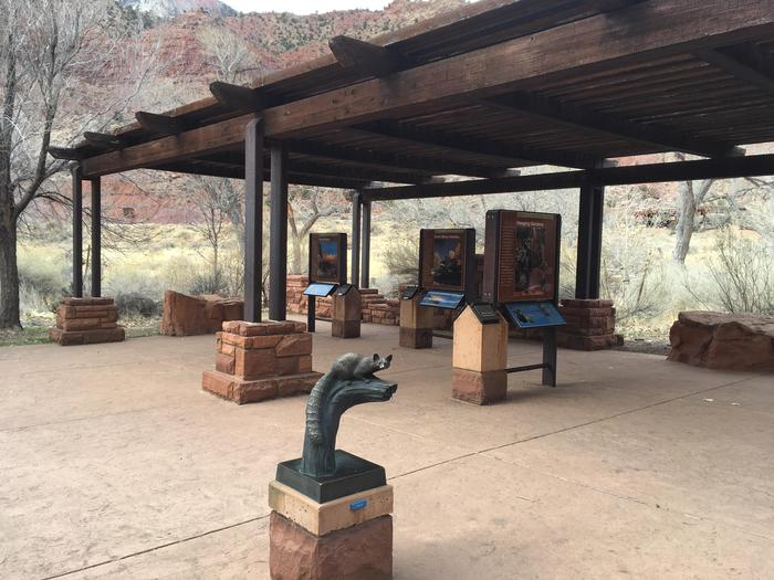Outdoor ExhibitsThe visitor center exhibits are available 24 hours a day.