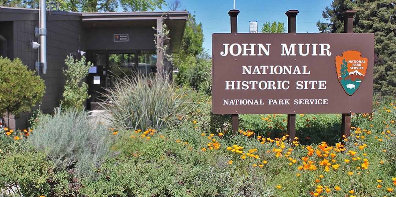 John Muir National Historic SiteJohn Muir NHS Visitor Center.