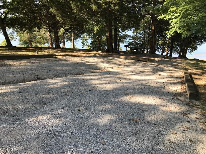 WILLOW GROVE CAMPGROUND SITE #55 GRAVEL PARKING PRONE TO EROSION (2)WILLOW GROVE CAMPGROUND SITE #55