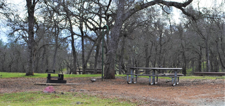 Acorn Campground Site 31 Picnic areaCamp Site