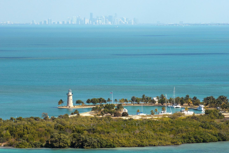 Boca Chita KeyBoca Chita Key is the park's most popular island destination.