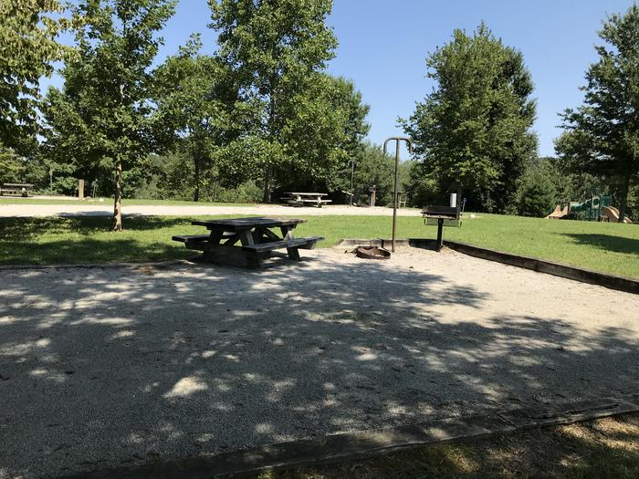 WILLOW GROVE CAMPGROUND SITE #82 PARTIAL SHADEWILLOW GROVE CAMPGROUND SITE #82