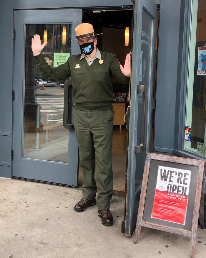 Klondike Gold Rush - Seattle Unit Visitor Center WelcomeWe're Open!