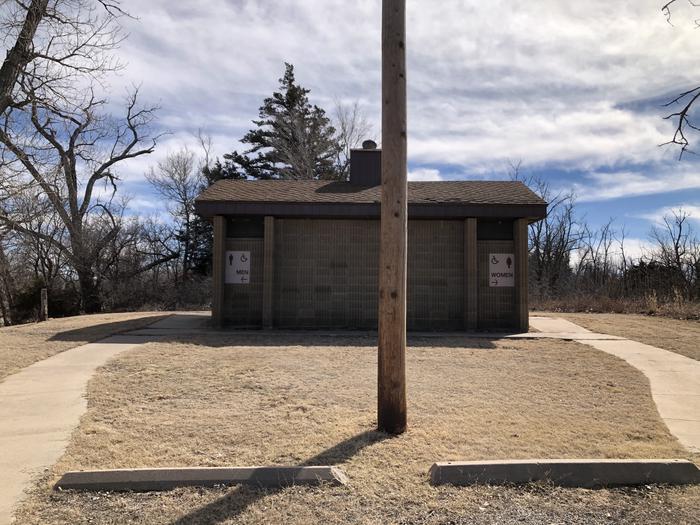 Beaver Point Vault Restroom