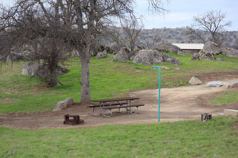 Codorniz Campground Site 8