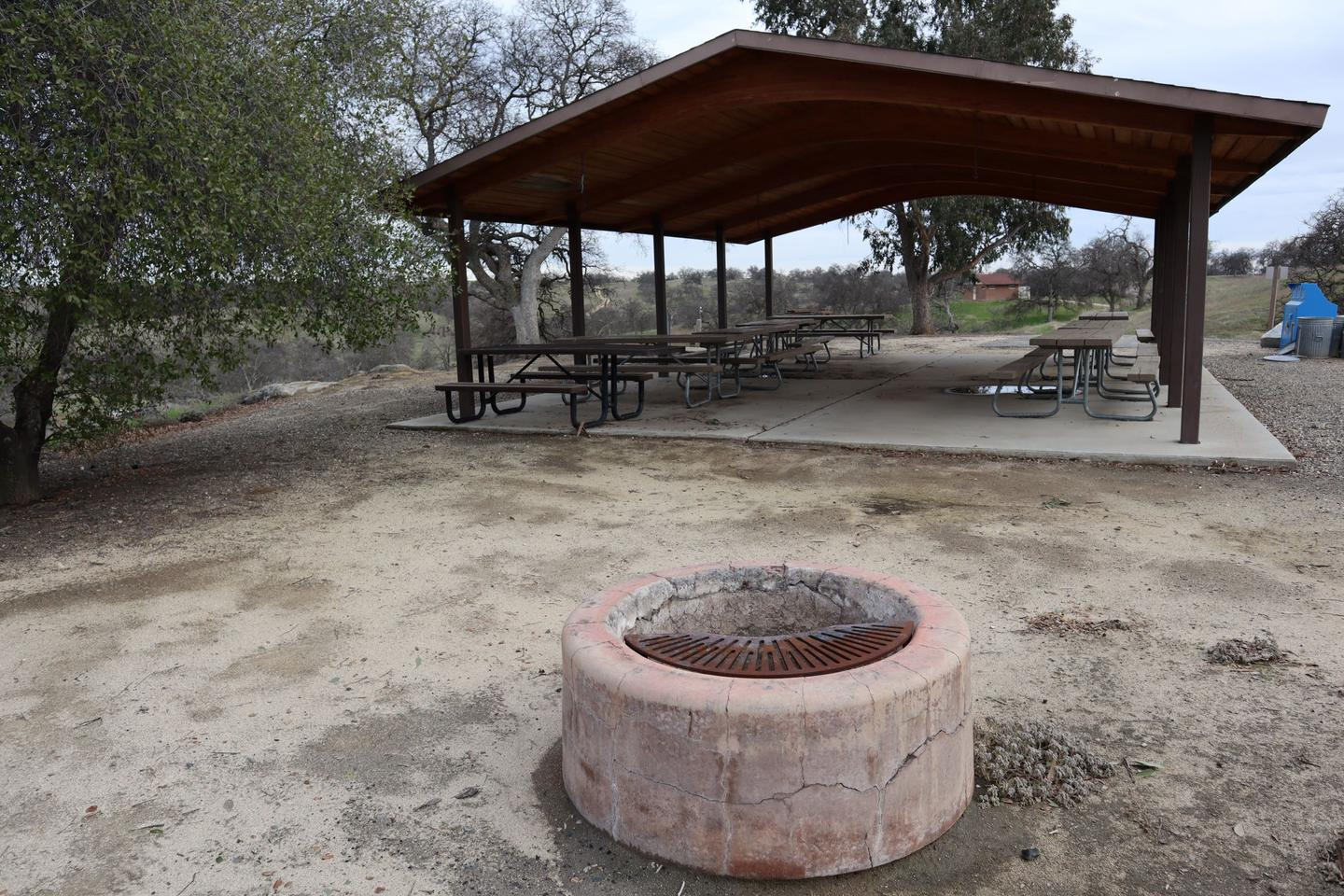 North Group B- Fire pit
