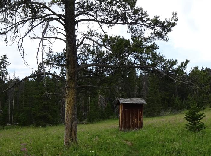 Ibex outhouseOuthouse with a view