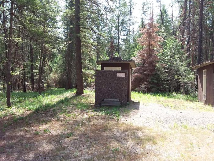Yaak River Day Use area- Vault Toilet
