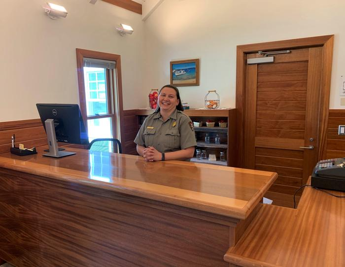 LSB Visitor Center Front DeskStaff are ready to help make your visit a success.