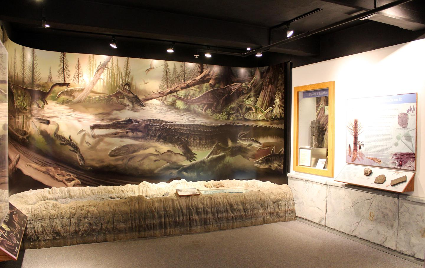 Rainbow Forest Museum's Blue Mesa Room