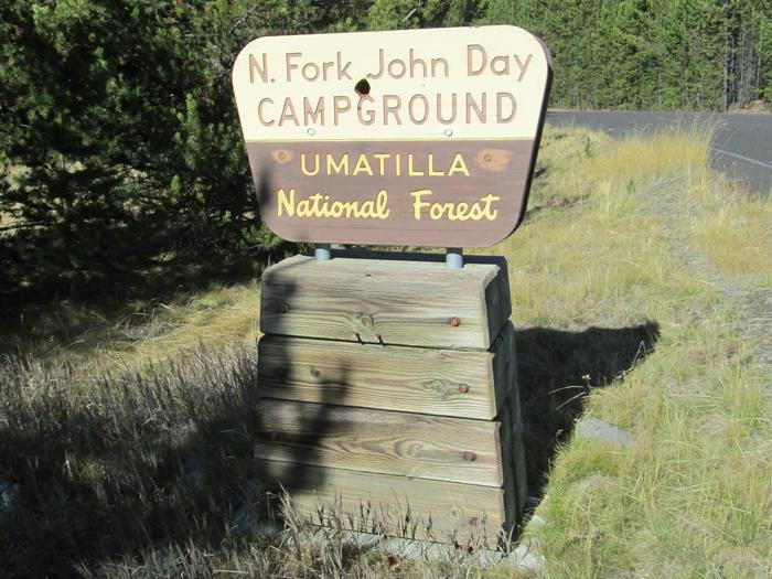 campground entrance signNFJD Campground
