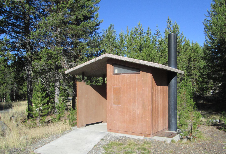 camp site vault tioletNFJD Campground vault toilet