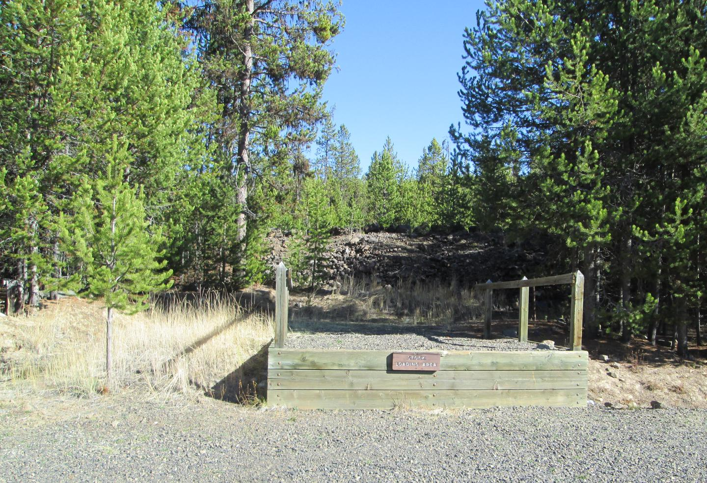 campground loading rampNFJD Campground loading ramp