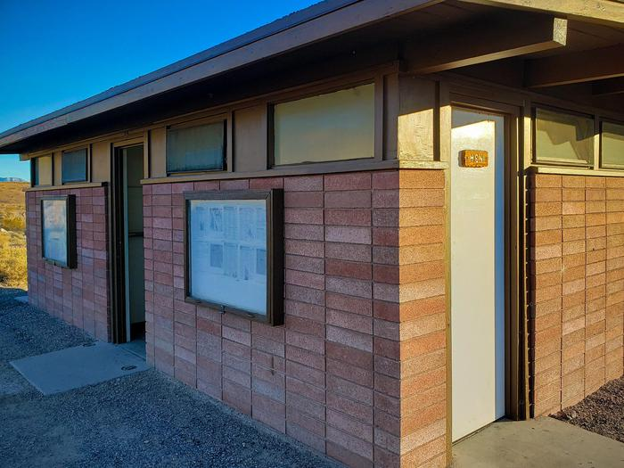 Mesquite Springs RestroomsTwo restroom buildings with flush toilets are available.