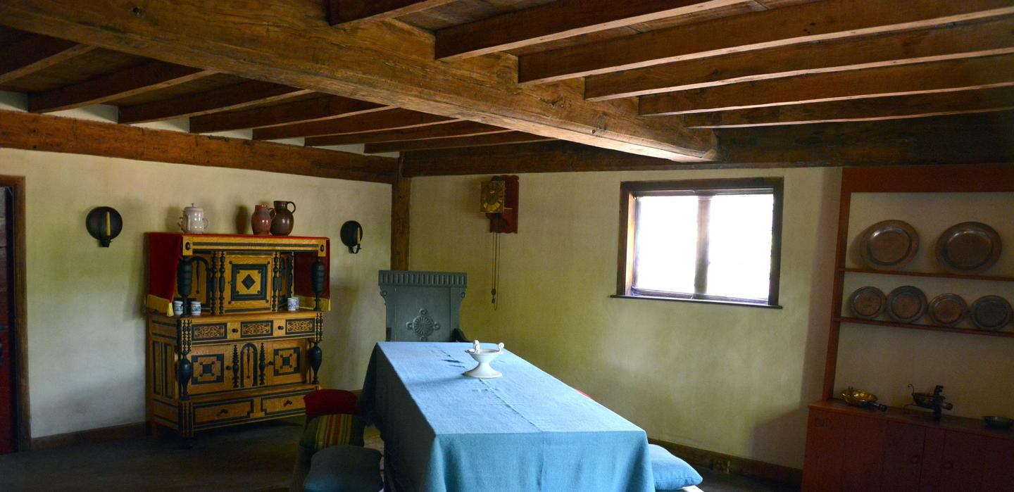 ParlorSome rooms contain period and reproduction furnishings