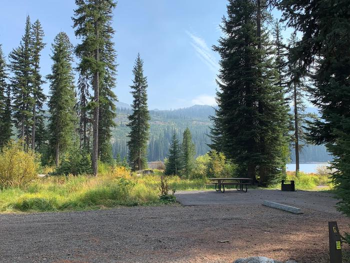 Upper Payette Lake Campground Site 6