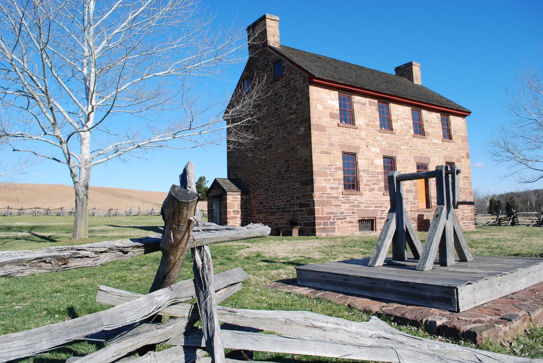 Stone HouseThe historic Stone House, a battlefield landmark, sheltered Union wounded in both battles of Manassas.